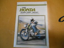 1964 - 1977 HONDA CB SS CL CA 125-200cc TWINS Clymers Service Repair Manual M321