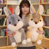 Simulation Rabbit Bunny Toys Soft Stuffed Animal Plush Doll Kids Children Gifts