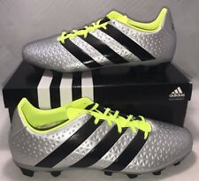 Adidas Mens Size 12 Performance Ace 16.4 Fxg Soccer Cleats Messi Shoes Silver