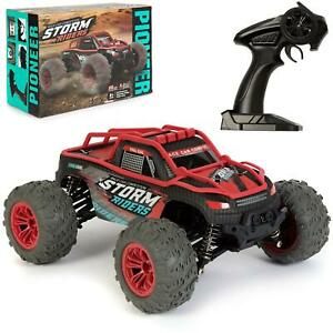 Large Remote Control RC Big Wheel Toy Car 36kmh Monster Truck 2.4GHz 7V 1:14