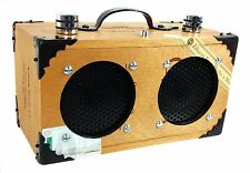 """The Dually"" Oliva Serie G Portable Cigar Box Guitar Amplifier - Dual-Speaker"