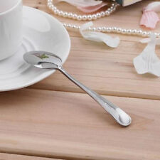 Stainless Steel Coffee Dessert Teaspoon Fruit Spoons Sundae Ice Cream