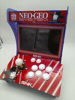 "FR-ARCADE BARTOP 10"" RED PANDORA BOX 5S 1299 GAMES + CONNECTOR 15 PIN NEW"