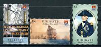 Kiribati 2005 MNH Battle of Trafalgar 200th 3v Set II Boats Ships Nelson Stamps