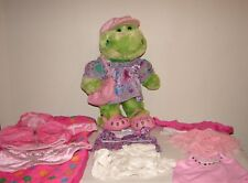 Build a Bear Stuffed Frog Feelin' Green Lucky Clover Plus Clothes Accessories