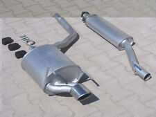 Exhaust system for Mercedes CLK 200 230 C208 coupe A208 convertible 2.0 2.3 4620