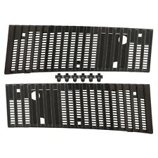 NEW GENUINE NISSAN D21 D21U 1986-1997 HARDBODY PICKUP TRUCK COWL VENT GRILLE SET