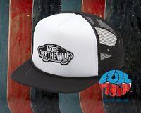 New Vans Classic Patch Mens Trucker Snapback Cap Hat