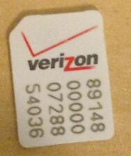 Verizon NANO SIM CARD