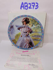 """ENESCO BARBIE PLATE 8 1/4"""" GIBSON GIRLS GREAT ERA'S COLLECTION 2970/10,000"""