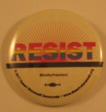 RESIST -  Pin Back Buttons - 3 buttons