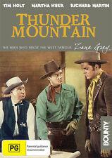 THUNDER MOUNTAIN - ZANE GREY - NEW & SEALED R4 DVD