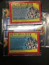 1983 Star Wars Topps Rotj Return Jedi Proof Card 1/1 Vault Unpublished