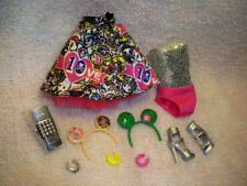 Tokidoki Pink Hair Barbie 2015 Fashion Outfit, accessories, No doll fresh