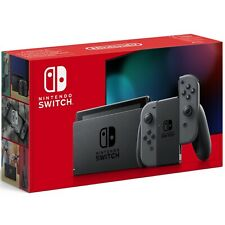 CONSOLA NINTENDO SWITCH V2 BASE + 2 MANDOS COLOR GRIS + 2 CORREAS+HDMI+SOPORTE