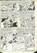 1980 THE FLASH #292 PAGE 12 COMIC ORIGINAL ART BY DON HECK NO RESERVE