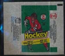 1977 O-Pee-Chee WHA Hockey Empty 15 cent Harmonica Ad wrapper  VG 53471