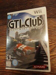 BRAND NEW GTI Club: Supermini Festa (Nintendo Wii, 2010) complete game RARE