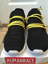 Adidas NMD Human Race Black and Yellow Lace Size 8.5