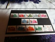 timbre luxembourg  n 748/53+764/9 neuf