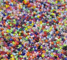Jewelry Making 1000pcs 2mm Lot Czech glass seed beads  MIX About 15G DIY   A1