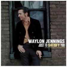 Waylon Jennings Just To Satisfy You LP VINYL Bear Family Productions Ltd. 2014 N