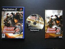 DYNASTY WARRIORS 5 : JEU Sony PLAYSTATION 2 PS2 (Koei COMPLET envoi suivi)
