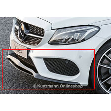 AMG Frontsplitter Spoiler Lippe schwarz C-Klasse W205 Original Mercedes-Benz NEU