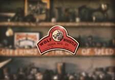 Wolf Whistle Restoration Decal Hot Rod V8 1932 1940 Flathead Ford Hemi Rat