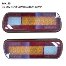 Narva LED Maxilite Rear Stop Tail Indicator Reverse Fog Light 12/24v IP67 PAIR