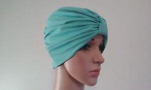 CHEMO/ CANCER / ALOPECIA   TURBAN HAT WRAP CAP FOR HAIR LOSS