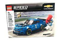 LEGO 75891 Chevrolet Camaro ZL1 Blue Race Car Speed Champions NEW