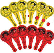 Transformers Party Supplies Favours 12 MINI PADDLE BALLS Genuine Licensed