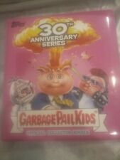 GARBAGE PAIL KIDS GPK PINK 30TH ANNIVERSARY BINDER ONLY (NO CARDS) ADAM BOMB