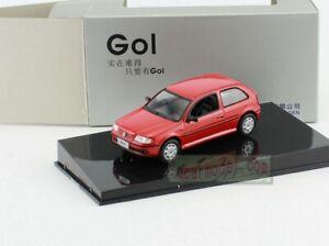 1:43 Scale Volkswagen VW GOL Diecast Model Red