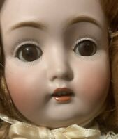 Catterfelder 264 Antique German Bisque Kestner Socket Head Wide Eyed Doll 19""