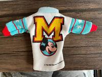 Mickey & Pals Disney Letterman Sweatshirt Barbie Fashion Doll 1980s Boy Vintage