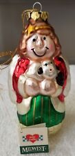 Midwest of Cannon Falls Eddie Walker Hollow Angel Ornament
