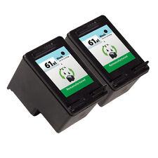 2PK HP 61XL Black Ink Cartridge CH563WN Deskjet 1055 Deskjet 3000 Deskjet 3050A