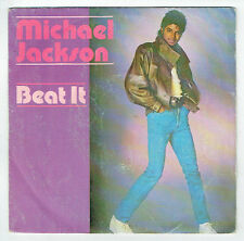 "Michael JACKSON Vinyl 45 tours 7"" SP BEAT IT - GET ON THE FLOOR - EPIC 3184"