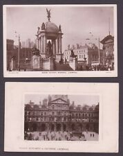 Liverpool Columbia No1 Machine Cancellation on Picture Postcards  X 2