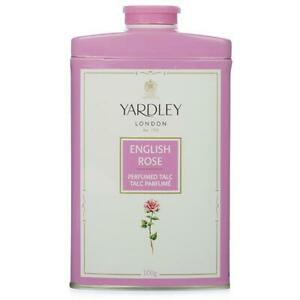 Yardley London Perfumed Talc English Rose Talcum Powder - Free Shipping