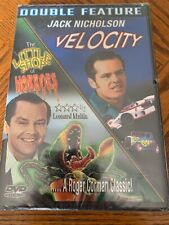 NEW Velocity & The Little Shop Of Horrors DVD Jack Nicholson Double Feature RARE