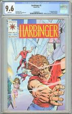 Harbinger #2 CGC 9.6 White Pages (1992) 2102663018