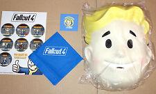 Fallout Promo Mask Napkin Sticker Set Sticker Bethesda Gamescom 2015 2018 E3 76