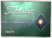 Brand New - Titleist AVX Golf Balls - 1 Dozen - 12 Pack - Free Shipping