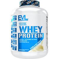 Evlution Nutrition 100% Whey Protein|  6g of BCAA, 4g of Glutamine, Gluten Free