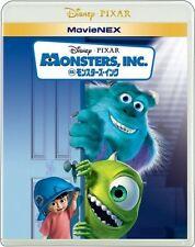 New Monsters, Inc. Blu-ray DVD MovieNEX Japan English VWAS-1503 4959241750372