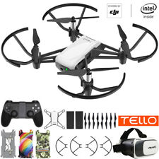 Tello Quadcopter Drone VR HD Video Bundle With Extra Battery & Remote Controller