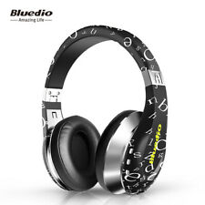 Bluedio A Bluetooth 4.1 Headphones Stereo Wireless Light Foldable Mic 3D Headset